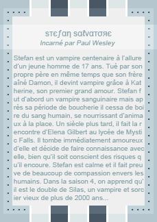 ╚> イɦε-ναɱρɪʀε-のɪαʀɪεѕх3 : Stefan Salvatore Création ▪ Décoration ▪ Newsletter