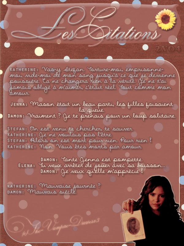 ● The-Vampire-Diariesx3.skyrock.com 2x04 Le Pacte Secret Création │ Décoration │Inspi Citations│Gifs│Newsletter