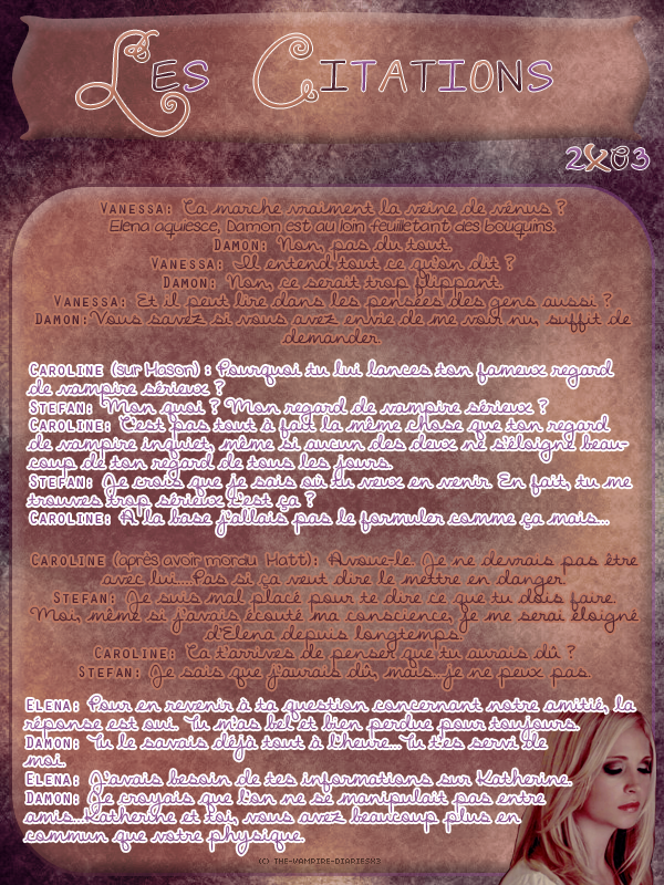 ● The-Vampire-Diariesx3.skyrock.com 2x03 Nouvelle Lune Création │ Décoration │Inspi Citations│Gifs│Newsletter