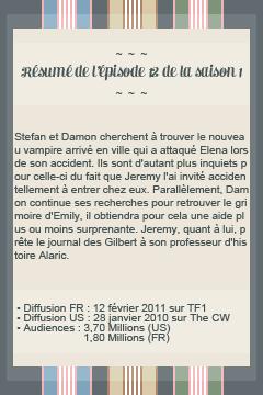● The-Vampire-Diariesx3.skyrock.com 1x12 Une petite ville pas si tranquille ๑ Création ๑ Décoration ๑