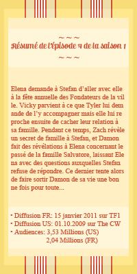 ● The-Vampire-Diariesx3.skyrock.com 1x04 Les Frères Salvatore ๑ Création ๑ Décoration ๑