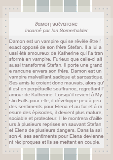 ╚> イɦε-ναɱρɪʀε-のɪαʀɪεѕх3 : Damon Salvatore Création ▪ Décoration ▪ Newsletter