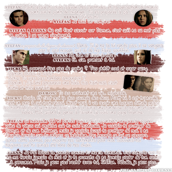 ● The-Vampire-Diariesx3.skyrock.com 1x06 Origines ๑ Création ๑ Décoration ๑