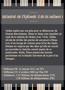 ● The-Vampire-Diariesx3.skyrock.com 1x05 Qui es-tu ? ๑ Création ๑ Décoration ๑