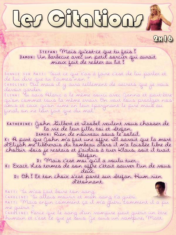 ● The-Vampire-Diariesx3.skyrock.com 2x16 Les Flammes De La Vengeance Création │ Décoration │Inspi Citations │Gifs│Newsletter
