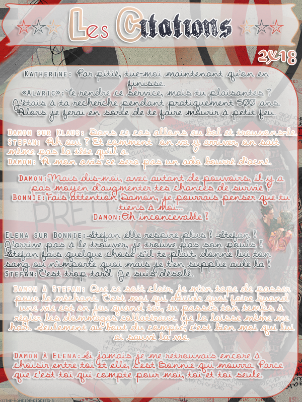 ● The-Vampire-Diariesx3.skyrock.com 2x18 Dernier Recours Création │ Décoration │Inspi Citations │Gifs│Newsletter