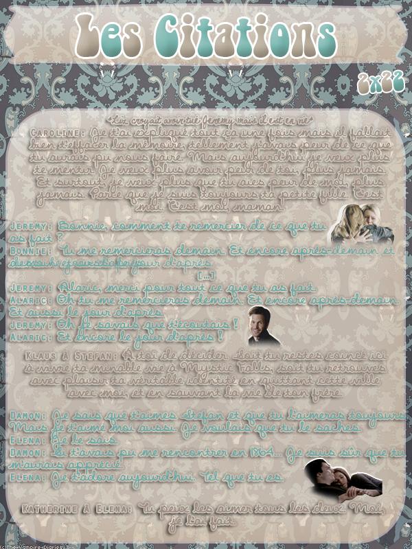 ● The-Vampire-Diariesx3.skyrock.com 2x22 Aux Portes De La Mort Création │ Décoration │Inspi Citations │Gifs│Newsletter