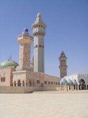 Visite de la mosquée de Touba
