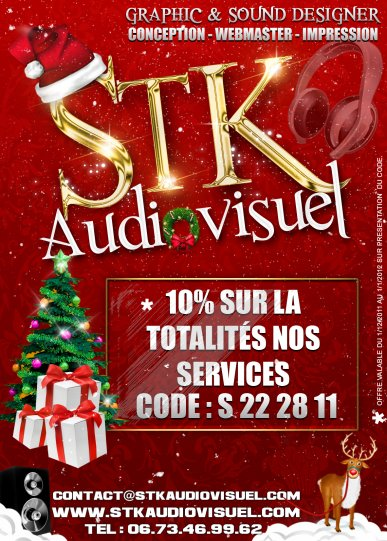 STK AUDIOVISUEL - PROMO NOEL