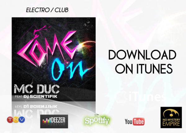 MC DUC - Come On (Song) - 2012