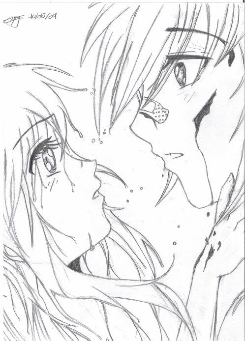 Mangas Couple Dessiner Peut être Une Calité Comme Un