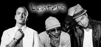 Lighters  ~  Bruno Mars, Eminem, Royce Da ' 59 (2011)