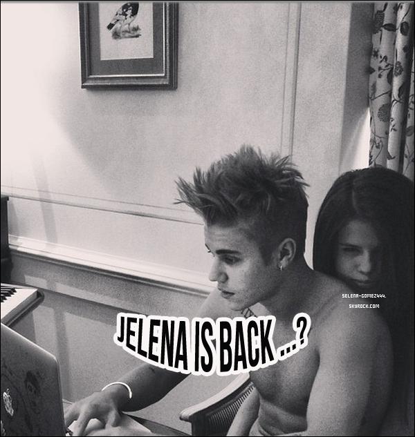 . Justin à poster cette photo sur Instagram, est-ce le retour de Jelena..? .