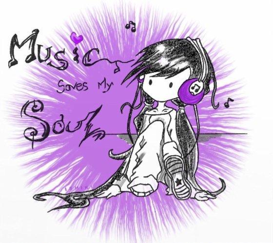 la musique sauve mon âme