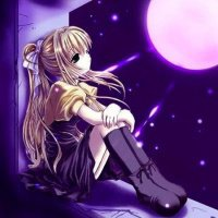 j'suis la seule a toujours regarder la lune et les étoile le soir ?