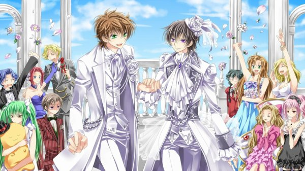 Le mariage  de Lelouch & Suzaku