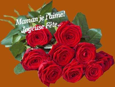 je dédie ce petit poème que j'ai écrit pour ma mamie chéri..bonne fête a toi aussi mamie...