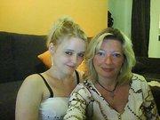 ma fille ludivine et moi aout 2010