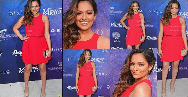 . 16/08/16- Beth' était une des invités à la cérémonie desVariety's Power of Young Hollywood- in Los Angeles. Pour voir le petit speech de Bethany c'est ici(+)Côté Look:. Je suis in love, j,'aime tout que ce soit la coiffure ou la robe, le rouge lui va à merveille ! .