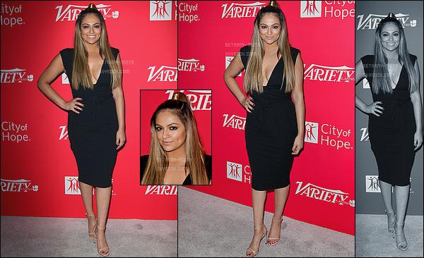 . 28/09/16- Bethany Mota s'est rendue à la cérémonie desVariety's 10 Latino to Watch- in Hollywood (CA). Peu de photos sont disponible ce qui explique le montage(+)Côté Look:. J'aime beaucoup la tenue de Bethany, ça fait très classe je trouve, top ! .