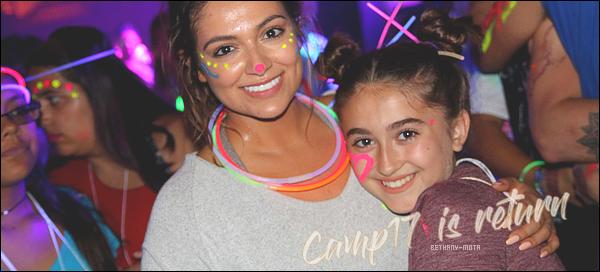""".              ●CAMP17 IS RETURN THIS SUMMER● .  Le """"Camp17"""" est un camp de vacances qui est ouvert à la tranche d'âge 10/17 ans, peut importe le sexe, Le camp propose des activités tel que la dance, l'escalade et bien d'autres choses. L'été dernier Bethany était une des animatrices au cotés du youtubeur Tyler Oakley. Ce camp a pour but de pouvoir se faire des amis, être """"couper"""" du monde virtuel et vraiment se focaliser sur la vie réelle. Ce camp dure 6 jours du 20 août au 26 août et il se situe dans le Connecticut. Ce camp n'est pas accessible à tout le monde car les parents déboursent environ 2.000$ pour que leur enfants passent un été de rêve avec leurs idoles. Néanmoins le camp est toujours très vite complet. Bethany s'y met à fond, ça lui tient vraiment à coeur.Lors d'une interview, Bethany s'est confié«Je suis vraiment impatiente de pouvoir rencontrer mes abonnés dans un cadre aussi immersif. Tyler et moi avons été très occupé àpréparerdes activités uniques quipromettent de fournir une semaine pleines d'apprentissage.». La belle brune a également confié que passer du temps avec ces enfants était une partie de plaisir.    Texte + recherche par la web  ."""