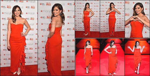 . 12/02/15- Miss Bethany était à la fashion week pour le défilé Go red for women à - New York (USA) (+) Côté Look:. Je trouve que Bethany est vraiment sublime, j'aime beaucoup sa robe rouge, de plus elle était assez souriante, c'est un gros TOP! .