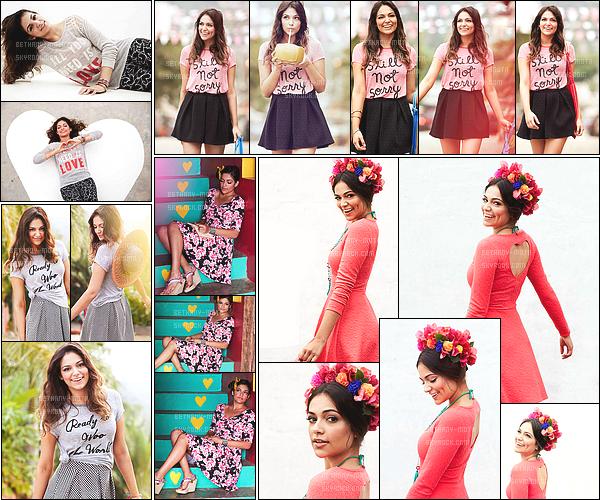 . ●Découvre le nouveau shoot de Bethany pour la collection de printemps de chez Aeropostale●  .