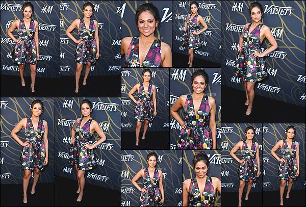 . 08/08/17 -Bethanyétait présente à l'événement,Variety Power of Young Hollywood- in Los Angeles. La miss Mota était assez souriante! (+)Côté Look:. J'aime vraiment beaucoup la robe que porte Bethany, elle est tellement belle, c'est un gros top. .