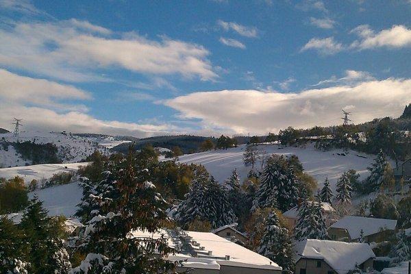 Saint Étienne sous la neige