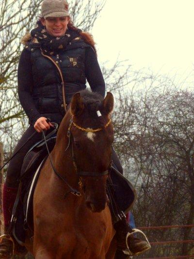 """""""Il n'y a pas de chevaux qui ne veulent pas faire."""