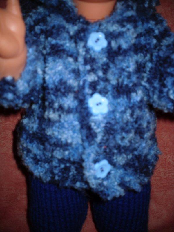 détail de la veste