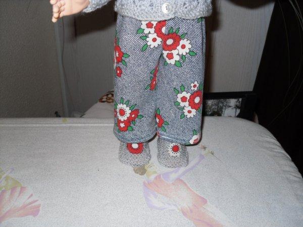 pantalon style année 60