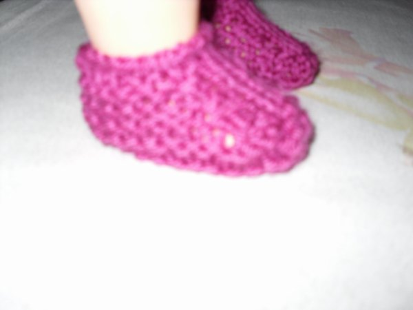 chaussons de profil