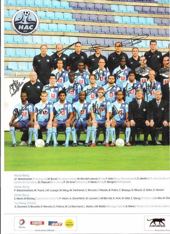 Le Havre Saison 2009-2010