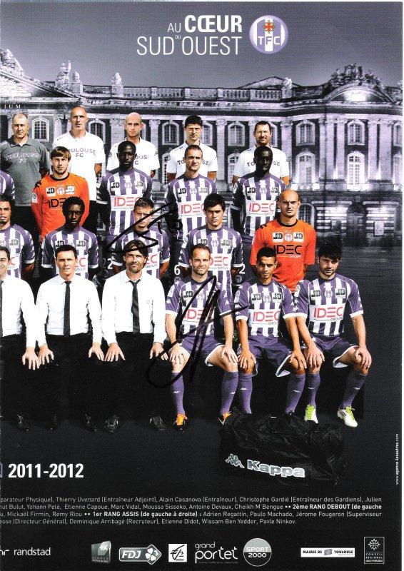 Toulouse Football Club saison  2011-2012