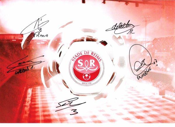 Autographes Stade de Reims Saison 2012 - 2013