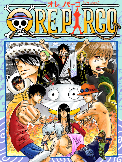 Crossover One Piece/Gintama