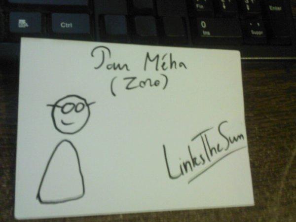 Autographe de LinksTheSun ! **