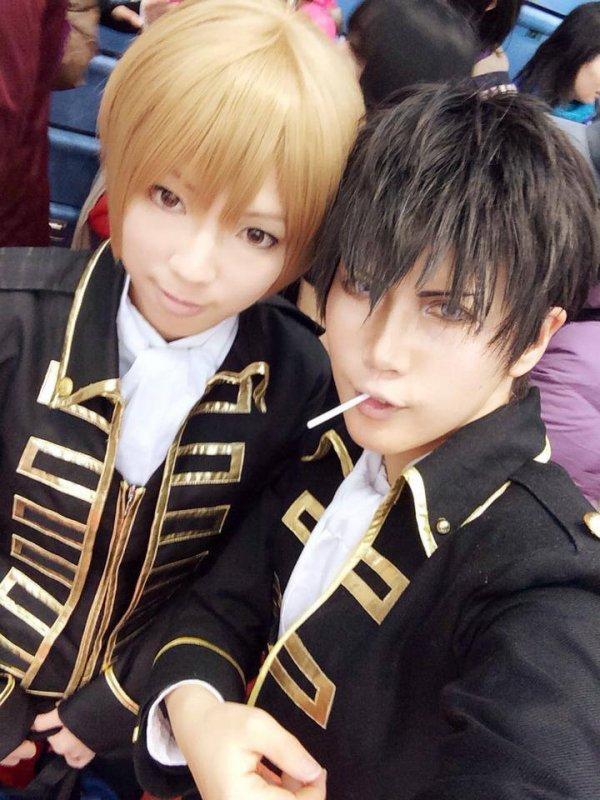 Hijikata & Okita {2}