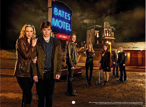 . Poster promo de la deuxième saison de Bates Motel ! Désolé pour la qualité .
