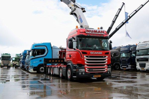 25-08-2018 Truckschow Numansdorp Pays-Bas. 001.