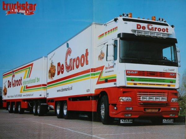 Affiche du magazine mensuel Trucks.