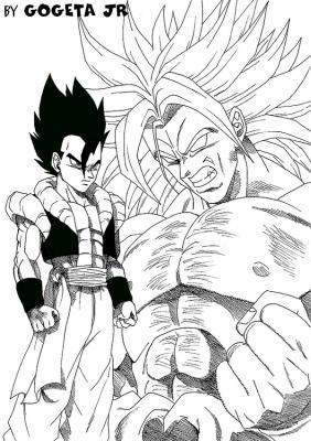 Coloriage Dragon Ball Z Tout Sur Dragon Ball Z Gt