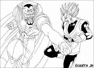 Coloriage Dragon Ball Z Tout Sur Dragon Ball Z Gt
