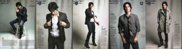 Affiches Promotionnelles + Photoshoot Ian + Magazine