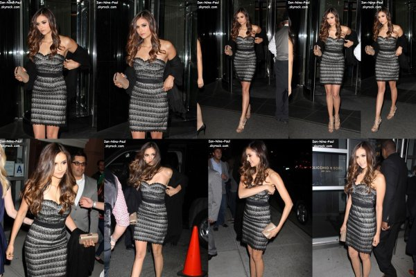 CW Upfront 2012 + Nina au Cinema Against AIDS + Photoshoot Ian