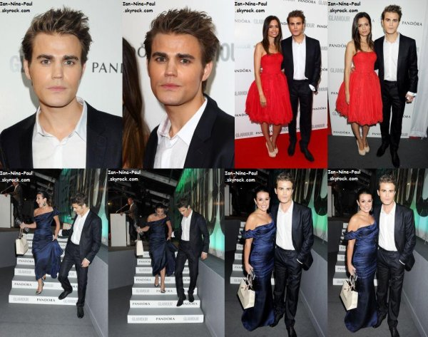 Paul et Torrey au Glamour Women of the Year Awards + Photoshoot Paul + Nina harcelée