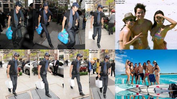 Ian dans les rues de New-York + Nina en vacances + Nina à la campagne ''Like her, Like me'' + Photoshoot de Nina + Photoshoot de Paul