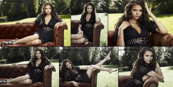 Joyeuses Fêtes ! (Photoshoot Nina + Twitter Nina + Nina sur le set de son film + Behind The Scene + Photoshoot Ian)