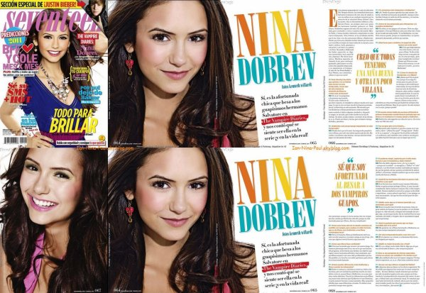 Photoshoot Paul et Ian + Paul avec Torrey en sortie + Photoshoot Nina + Magazine + Twitter Nina